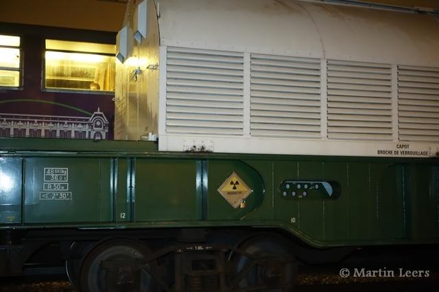 Un convoi de déchets nucléaires italiens... sur les voies du RER C
