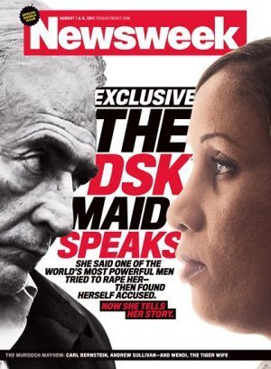 Couverture du magazine Newsweek