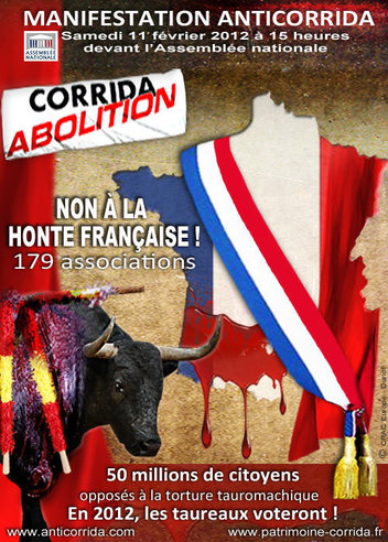 Manifestation anti-corrida