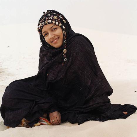 Jeune femme Touareg