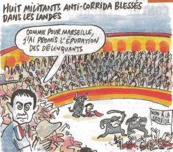 Dessin de Catherine dans Charlie Hebdo du 28/08/2013