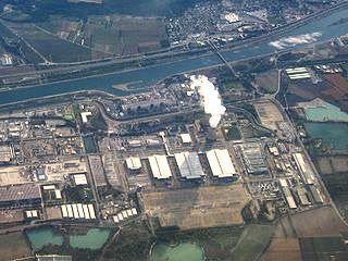 Le site nucléaire du Tricastin