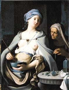 CERRINI, Gian Domenico (1609-1681) - La Magicienne Circé (XVIIe s.)Brive-la-Gaillarde, Musée Labenche
