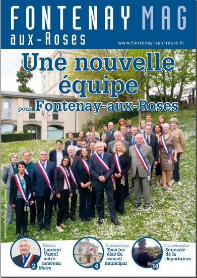 """Couverture du magazine """"revu"""" d'avril 2014"""
