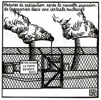 """Energie nucléaire : criminaliser les militants pour masquer l'impuissance face au """"risque terroriste"""" !"""