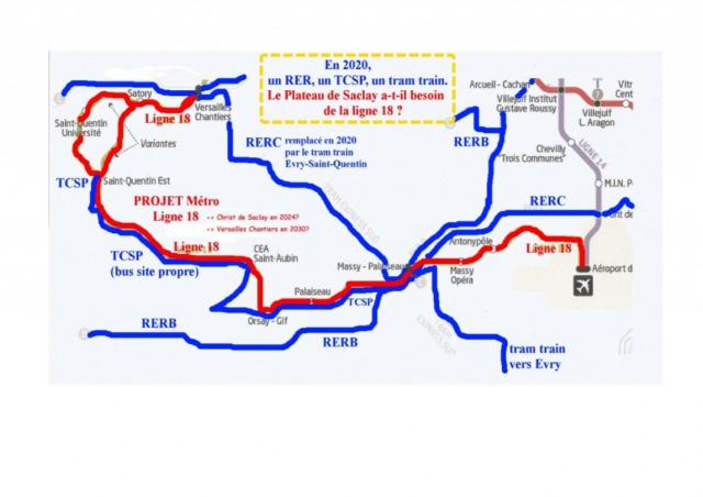 Pas de métro sur le Plateau de Saclay : signez la pétition!