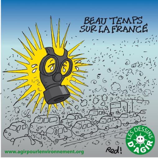 Beau temps sur la France